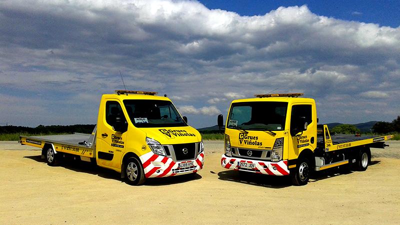 Grúas de auxilio en carretera: un vehículo para cada servicio